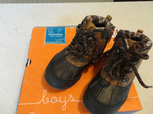 Brand New Boys Size 8 Sonoma Brown Ankle Boots - Never Worn Kitchener / Waterloo Kitchener Area image 4