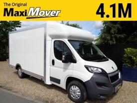 Peugeot Boxer Maxi Mover 4.1M ProMAX Ultra-Lightweight Low Loader Luton Van