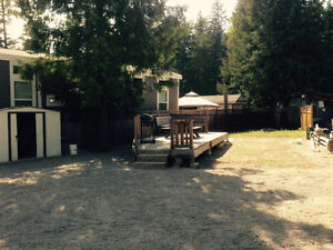 RV Lot in the Shuswaps for Summer Rental