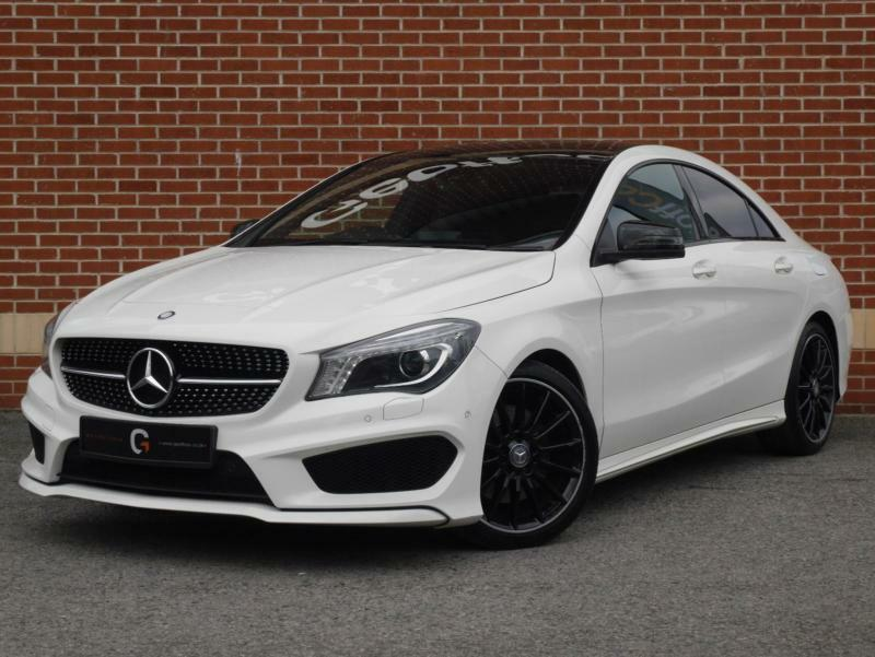 2013 13 mercedes cla class 2 1 cla200 cdi amg sport 7g dct white diesel in ripley. Black Bedroom Furniture Sets. Home Design Ideas