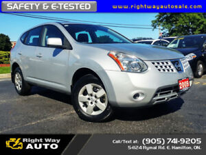 2009 Nissan Rogue S | NEW TIRES | LOW KMS | SAFETY & E-TESTED