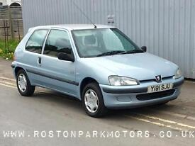 2001 PEUGEOT 106 1.1 Independence 3dr perfect 1st car new MOT