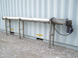 seed coating auger, 10'