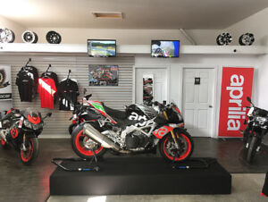 2018 APRILIA DEMO SAVE $2000! FINANCING FROM 0% FULL WARRANTY