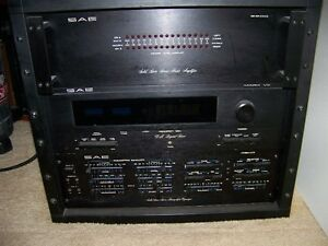 SAE Vintage 100 watt stereo tuner amp equalizer