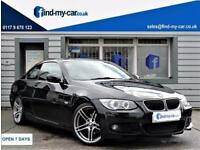 2011 11 BMW 320 2.0 i M Sport COUPE With FSH 19' ALLOYS