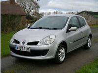 07/57 Renault Clio 1.2 16v ( 75bhp ) Rip Curl limited edition.