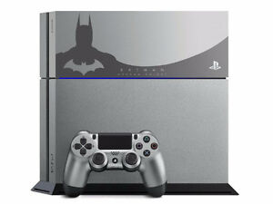 Limited edition Sony Batman ps4 with Limited controller.Mint!OBO