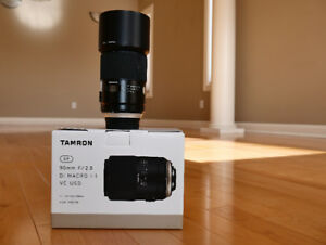Tamron SP 90 f2.8 Di Macro for Nikon F in brand new condition