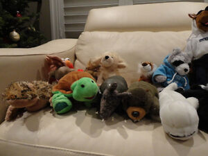 17 Pc. Plush Toy Collection -from a Supmoker Clean Non Sing Home Kitchener / Waterloo Kitchener Area image 3