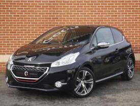 2013 63 Peugeot 208 GTi 1.6 THP 3dr (Black, Petrol)