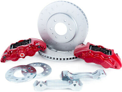 Alcon Big Brake front kit 6 piston Red for 2009-18 Ford Raptor F150  BKF1559BE11 Alcon Front Brake