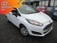 2013 Ford Fiesta 1.25 Studio - White - 12 months PLATINUM WARRANTY!