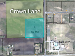 9.65 Acres with Building Site Ready to Build On