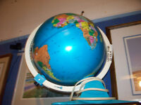 Fisher Price Lighted Discovery Globe with Viewer