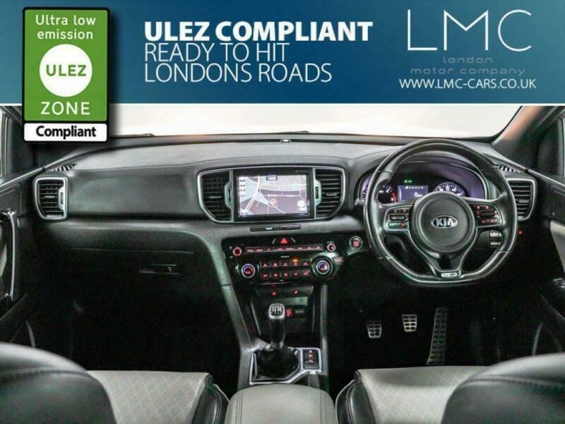 2017 Kia Sportage 1.7 CRDI GT-LINE EDITION ISG 5d 114 BHP Estate Diesel Manual