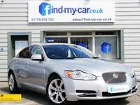 2009 09 Jaguar XF 2.7TD Auto Luxury in Silver with ONLY 35,000 MILES