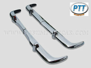 Opel Rekord P2 Bumper 1960-1963 in Stainless Steel