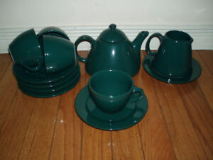 Dinnerware : Every Day Dinner Tea Dishes, different colors