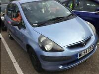 2004 Honda Jazz 1.4L i-DSI S Manual 5 Doors Petrol Family Car