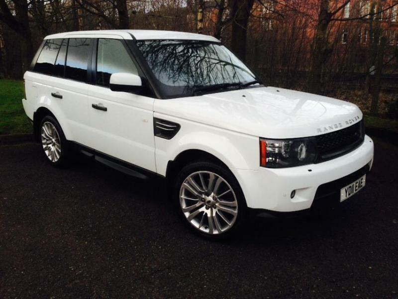 2011 land rover range rover sport 3 0 td v6 hse suv 5dr diesel automatic in broomhill glasgow. Black Bedroom Furniture Sets. Home Design Ideas