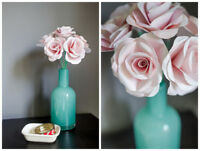 Handmade Paper Flowers - Great Wedding Keepsake! STARTING AT $30