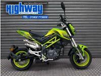 Benelli TNT 125 2020 Model Tornado Naked Superfast Green Like Grom Finance