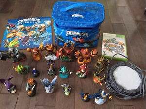 Skylanders Giants XBOX 360 plus Bag and Calendar.