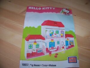 Hello Kitty Big House Lego Set