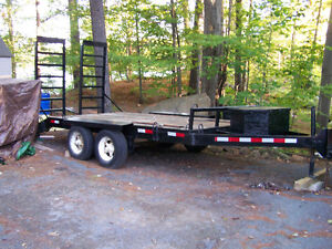 Heavy Duty Float Trailer