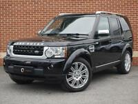 2012 62 Land Rover Discovery 4 3.0 SD V6 HSE Luxury 5dr (Black, Diesel)