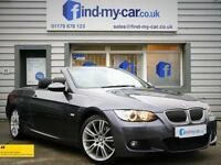 2008 58 BMW 325d 3.0 M Sport Paddleshift Auto with Black Leather