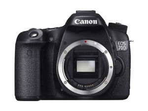 Like New Canon EOS 70D Camera with EF 24-105mm f/4L IS USM Lens