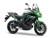2018 KAWASAKI VERSYS SE ABS TOURER..0% UP TO 36M AND FOC TOURER UPGRADE