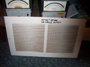 "14"" x 8"" Return Air Grille"