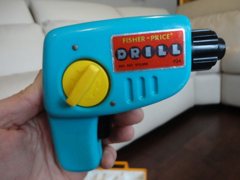 Vintage Fisher Price Drill