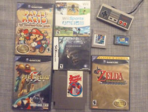 Jeux Nintendo Gamecube, Wii, NES, DS, Game Boy, gba