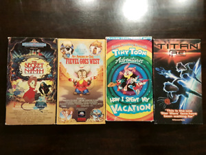 VHS family home video lot 3