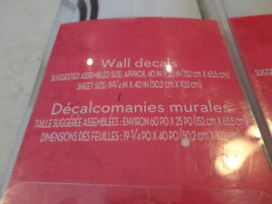 "One  Xhilaration 60"" x 25"" Wall Decals - Brand new Kitchener / Waterloo Kitchener Area image 4"