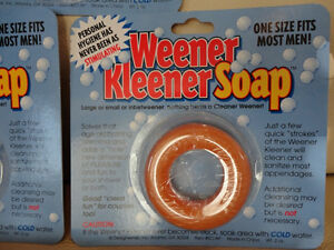 Weener Kleener Soap - 4 Brand new Packages - Awesome Gag Gift Kitchener / Waterloo Kitchener Area image 2
