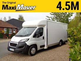 Peugeot Boxer Maxi Mover 4.5M ProMAX Ultra-Lightweight Low Loader Luton Van