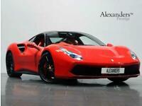 2016 Ferrari 488 3.9T V8 GTB F1 DCT (s/s) 2dr Coupe Petrol Automatic