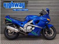 1990 Kawasaki ZZR600 Blue Project Restoration Bike PX to Clear with MOT