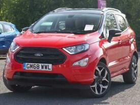 image for 2019 Ford Ecosport Ford Ecosport 1.0 E/B 100 ST-Line Nav 5dr 2WD 18in Alloys SUV