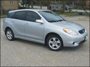 2006 Toyota Matrix 4x4 $7,995 + hst or $219 / moth OAC*