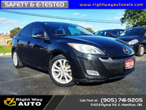 2010 Mazda Mazda3 GT | LOW KMS | **WINTER SALE**