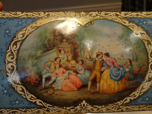 Vintage Metal MacFarlane Lang & Co. Biscuits Lovely Old Tin Kitchener / Waterloo Kitchener Area image 2