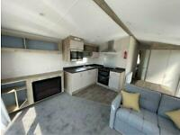 brand new sea view static caravan with decking for sale at trecco bay