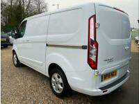FORD TRANSIT CUSTOM 2.2 TDCI - LIMITED- 79,301 - NEW MOT - SERVICED - ONE OWNER