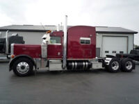 2005 Peterbilt 379 X with a REBUILT 550 Cat.